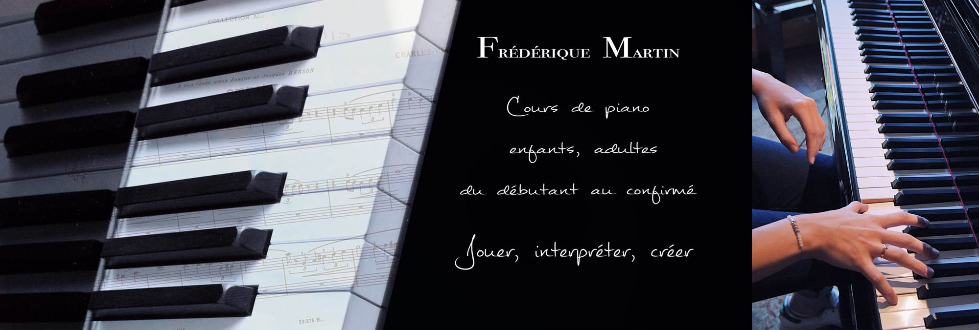 Frédérique Martin Professeur de Piano à Paris, Cours de piano.